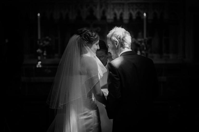 Seend Church Wiltshire wedding photography