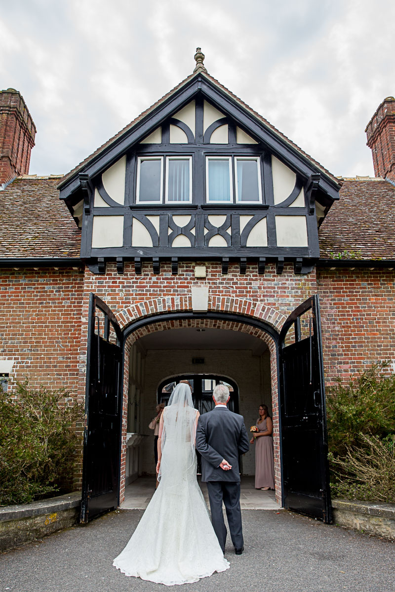 Lulworth Courtyard wedding