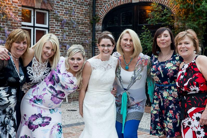 Lulworth fun wedding photographs