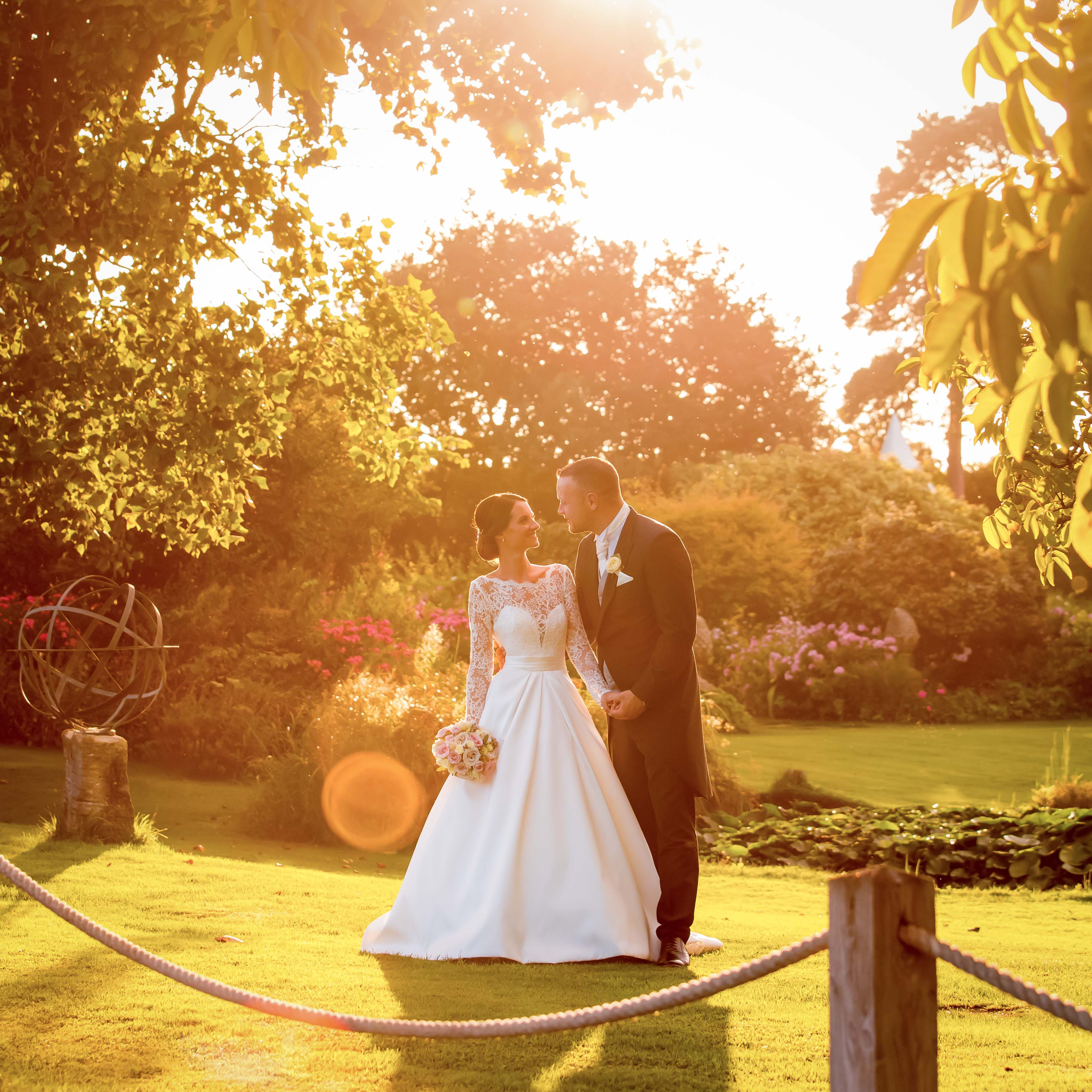 Parley Manor Sunset wedding