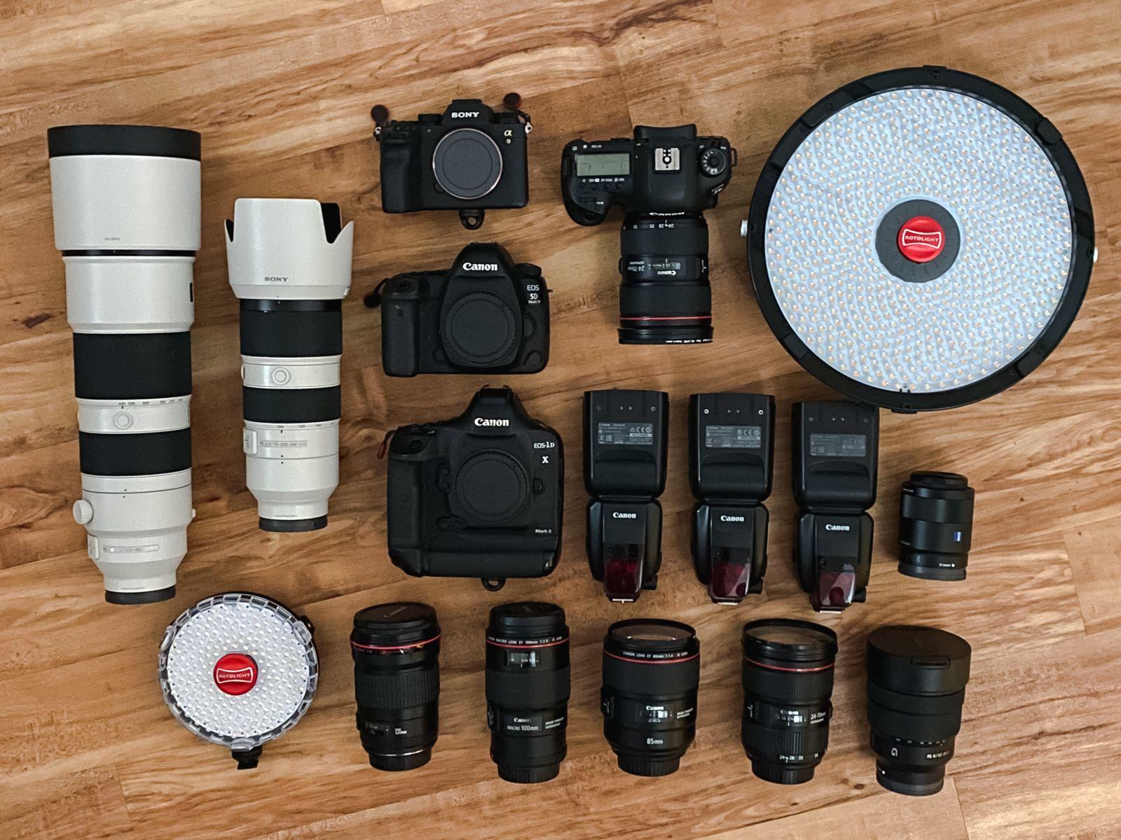 Camera equipment Millard Photography